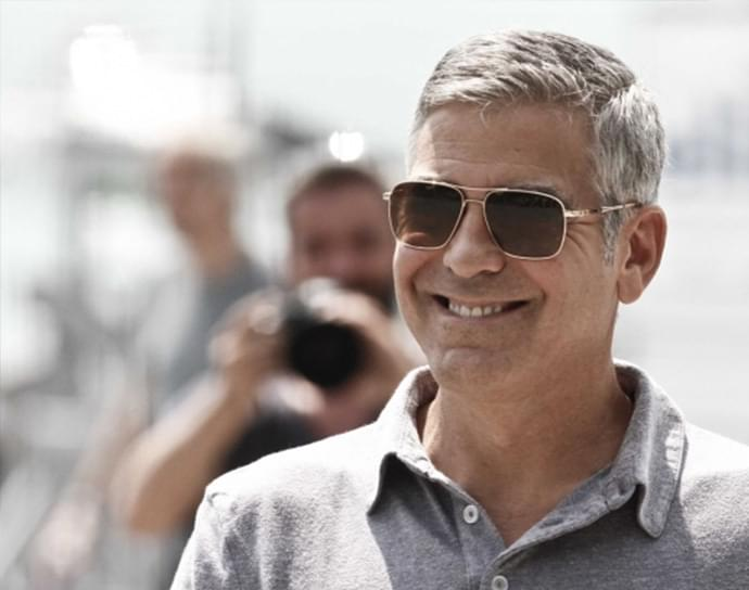 78906bdeac3 George Clooney Sunglasses – Celebrity Sunglasses Spotter ...