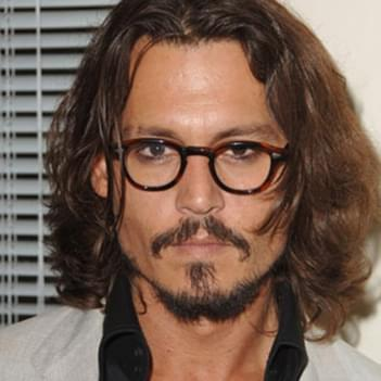351bd0f82264 Johnny Depp in Round Frame Glasses – Celebrity Glasses Spotter ...