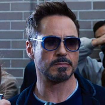 Robert Downey Jr. in Matsuda M3023 Sun Sunglasses- Celebrity ... dae408f938