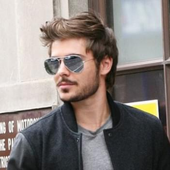 26af799fd9c9d Zac Efron in Ray-Ban Aviator – Celebrity Sunglasses Spotter ...