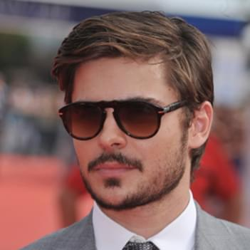 93279f767b Zac Efron in Persol PO0714 Folding Sunglasses - Celebrity Sunglasses ...